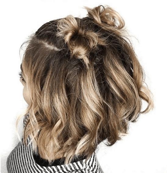 Semirecogidos Faciles Paso A Paso - Peinados-semirecogidos-pelo-corto